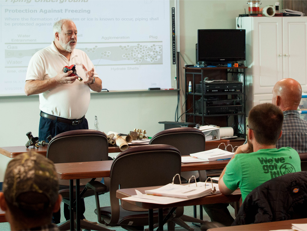 Instruction at Granite State Trade School
